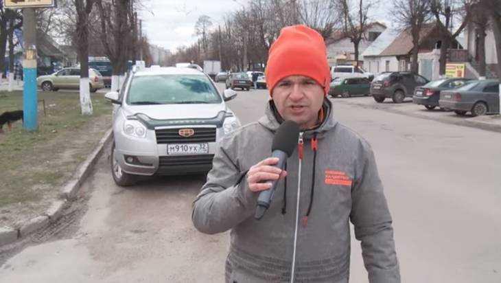 Инспекторы ОНФ опубликовали видео дорожного ужаса в Брянске