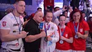 Брянская студентка стала чемпионкой мира по рукопашному бою