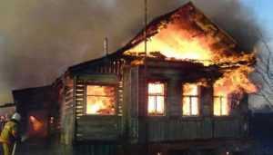 Во время ночного пожара в Брянске погибла супружеская пара
