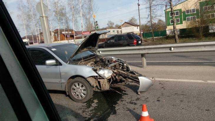 Под Брянском произошли две крупных аварии