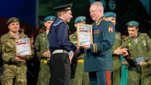 Брянский матрос стал открытием фестиваля армейской песни в Сочи