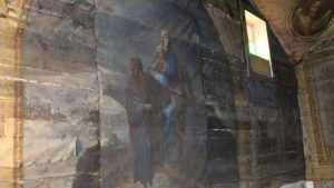 Брянцев попросили спасти от гибели уникальную подкупольную роспись в храме