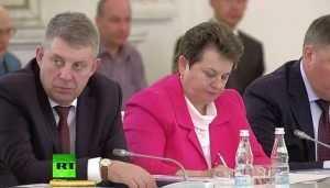 Брянский губернатор принял участие в заседании Госсовета при Путине в Кремле