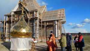 Брянцев попросили помочь в строительства храма в селе Малое Полпино