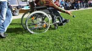 В Брянске прошел фестиваль «Паралимпийская миля — 2017»