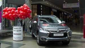 В Брянске прошла презентация третьего поколения дизельного Mitsubishi Pajero Sport
