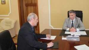Начальник Брянского УМВД Валентин Кузьмин выслушал жалобы на подчиненных