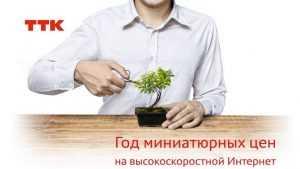 ТТК объявляет год миниатюрных цен в Брянске
