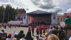 Славянский фестиваль в Клинцах собрал десятки тысяч брянцев и гостей