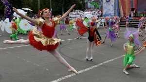Славянский фестиваль в Клинцах прошел со столичным размахом