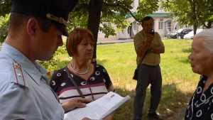 В Пролетарском сквере Брянска задержали коммунистов Куприянова и Павлова