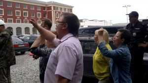 После скандала полиция взяла под охрану Пролетарский сквер Брянска