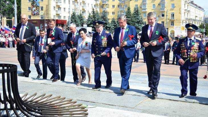 В Брянске прошел День партизан и подпольщиков