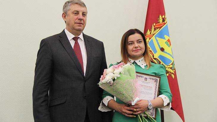 Губернатор Богомаз наградил лучших брянских предпринимателей