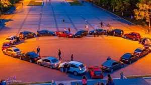 За свадебное сердце на Кургане брянским водителям выписали 20 штрафов