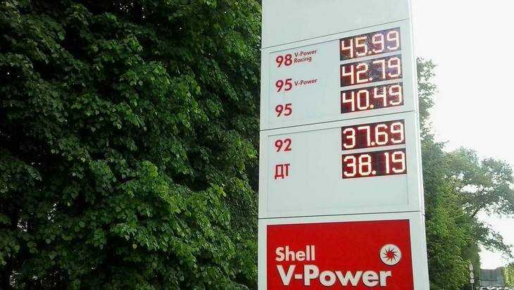 Цена бензина в Брянске оказалась не самой высокой