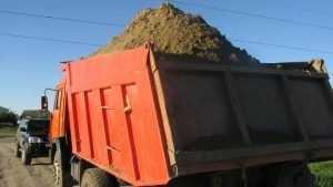Брянские чиновники остановили незаконную добычу песка