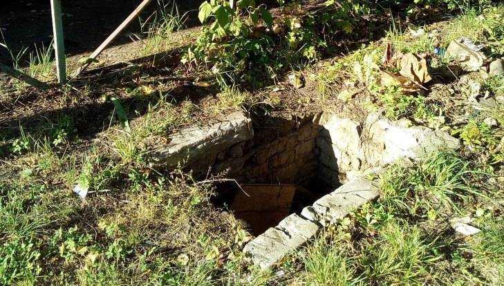 В Белых Берегах двое детей упали в открытый колодец