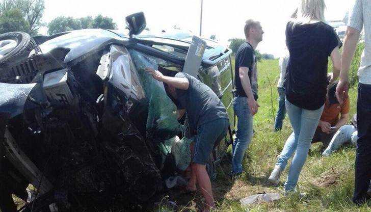 Очевидец раскрыл причину гибели на брянской трассе 28-летнего водителя