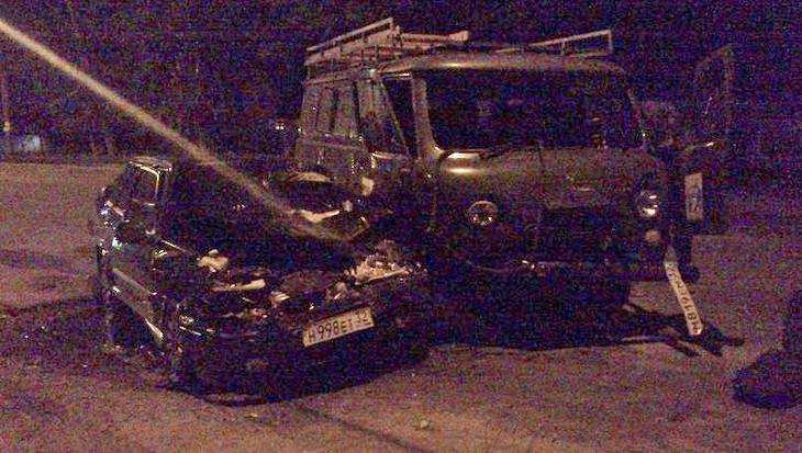 Несколько человек пострадали ночью в Брянске в ДТП на Литейной