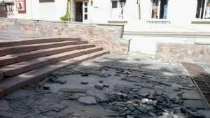 В Брянске начался первый этап реконструкции лестницы бульвара Гагарина