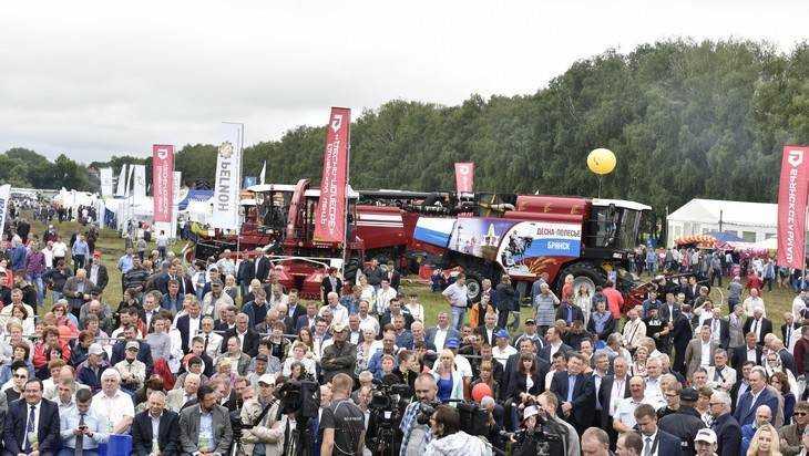 Более 10000 человек посетили экспозицию «Брянсксельмаш» на «Дне поля»