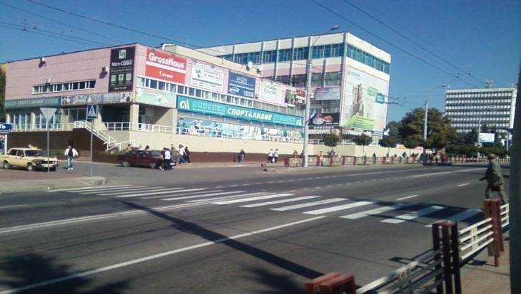 Прокуратура признала опасной «зебру» в Брянске на площади Ленина