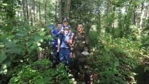 Опубликовано видео спасения под Брянском 8-летнего Кирилла Петрухина