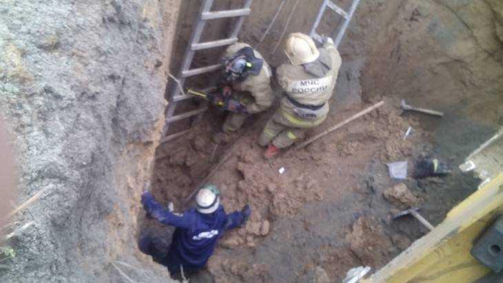 Под Брянском спасли провалившихся в глубокий котлован 4 рабочих