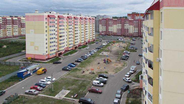 Военные получили 30 квартир в микрорайоне Брянска на берегу Десны