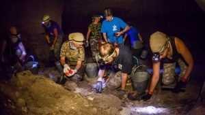 Останки брянского бойца обнаружили в крымских каменоломнях