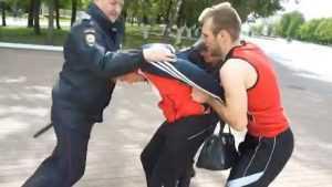 Полиция видеороликом призвала брянцев вступать в народные дружины