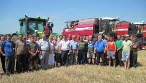 В Брянской области собрали рекордный урожай рапса и пшеницы