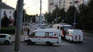 В Брянске из-за подозрительных сумок перекрыли движение