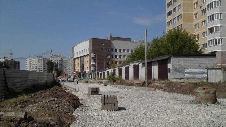 В Брянске начали строительство новой дороги на улице Рекункова