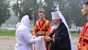 В Брянске Митрополит возглавил престольное торжество храма на Кургане