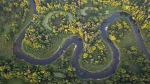 Брянский фотограф Шпиленок показал красоту Неруссы с высоты птичьего полета