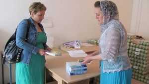 В брянском храме открылся пункт социальной помощи