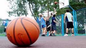 В Выгоничах Брянской области открыли спортивную площадку