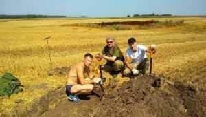 Под Брянском поисковики обнаружили останки шести красноармейцев