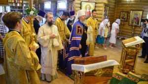 В пригородном брянском поселке освятили храм во имя князя Владимира