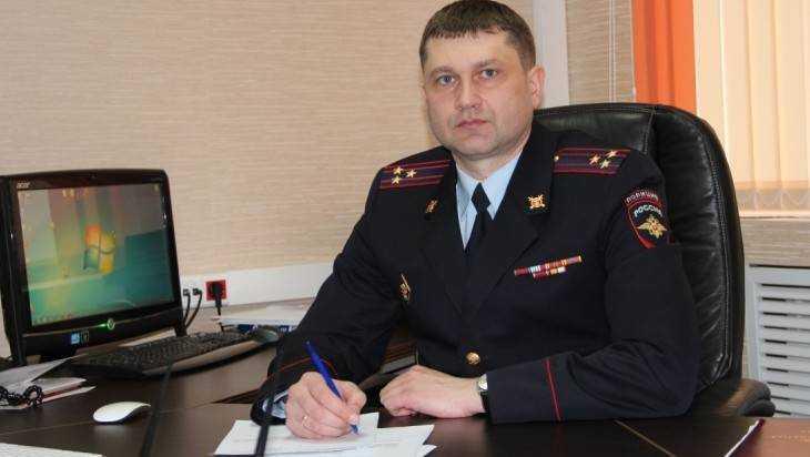 Сергея Григоренко назначили заместителем начальника Брянского УМВД