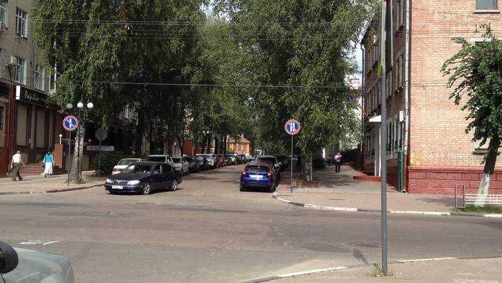 В Брянске нашли улицу, где все нарушают дорожные правила