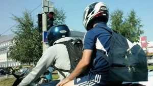 Жители Брянска пожаловались на ночные полеты мотоциклистов