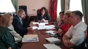 Екатерина Лахова провела приём граждан в администрации Володарского района