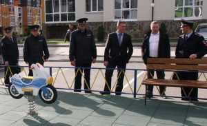 В «Мегаполис-Парке» завершается строительство опорного пункта полиции