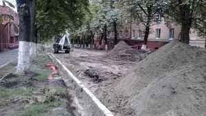 В неравном бою пали еще четыре тополя на бульваре Гагарина Брянска