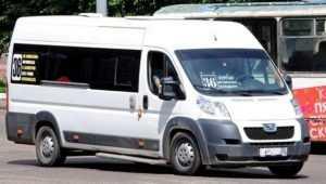 В Брянске водитель маршрутки № 36 разбил голову беременной пассажирке