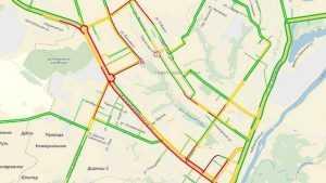Водители застряли в Советском районе Брянска в громадных пробках