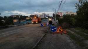 В Брянске открыли движение по Черметовскому мосту